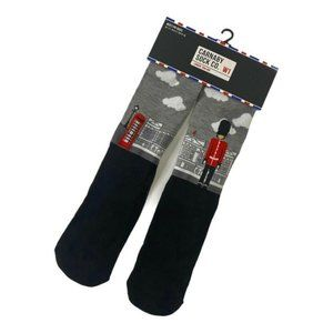 Carnaby Sock Co Men's 1 Pack London England Crew S